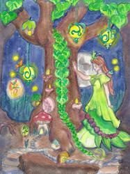 Faerie Tree by DaggerRavionFall