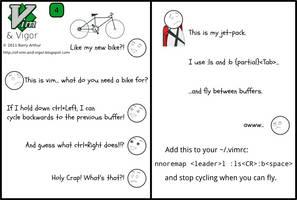 Flying vs Cycling
