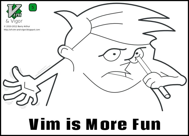 Vim and Vigor 5 - Vim is More Fun 1 by bairuidahu