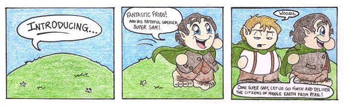 Hobbit Heroes by Aaron-Smiley
