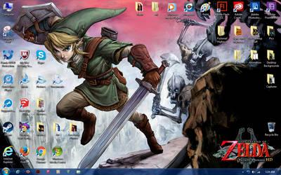 Twilight Princess HD Desktop by kevin42135