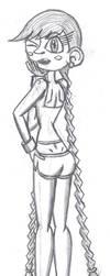 Lori Sketch 7 by kevin42135