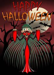 Lori Happy Halloween 2017 Alt. by kevin42135