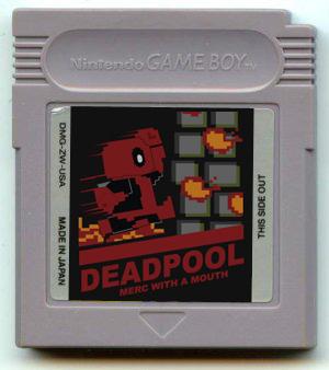 Deadpool: MwaM Gameboy by SharkBomb