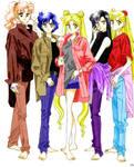 Senshi Coloring