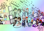 Music with friends x3