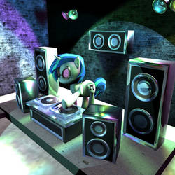 DJ Pon-3D by Tannith