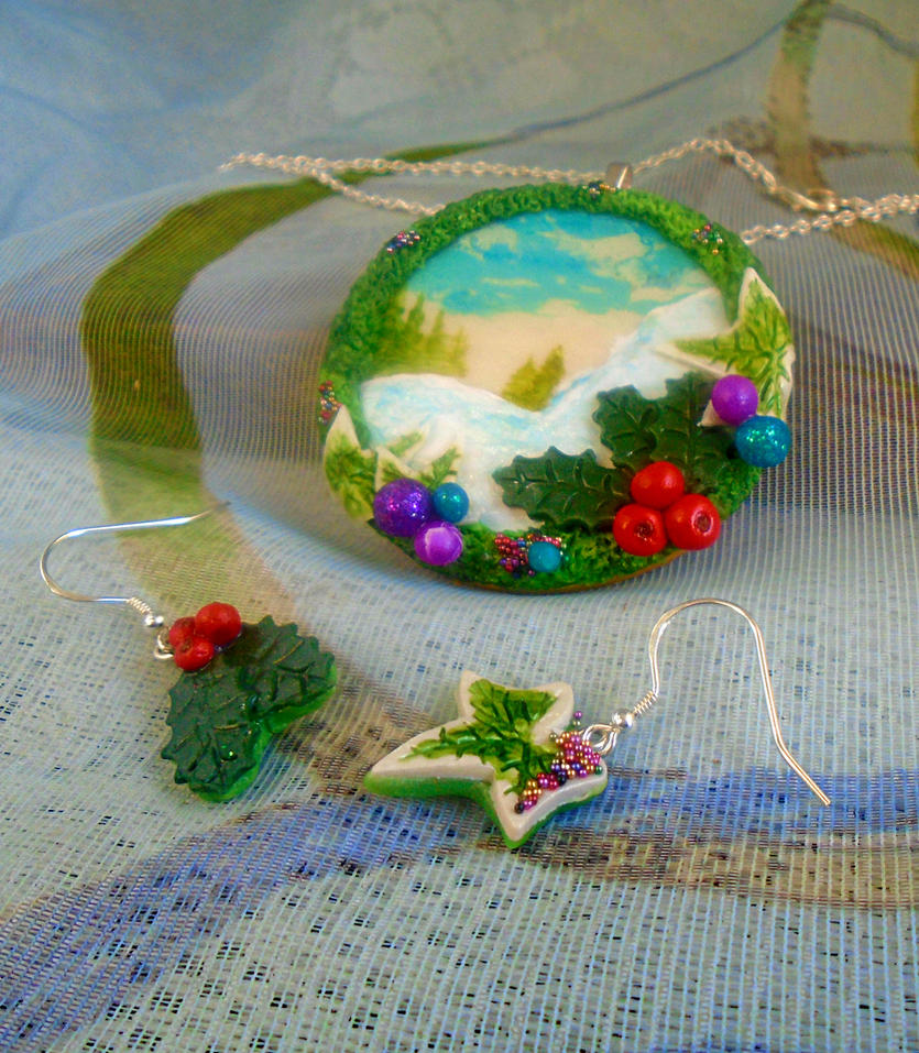 'Winter Wonderland' Jewellery Set by aldcord