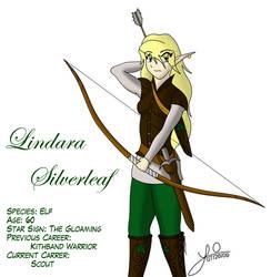 Lindara Silverleaf by FluffyLoveKitty