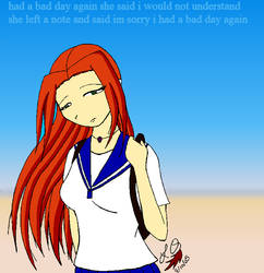 Sadness by FluffyLoveKitty