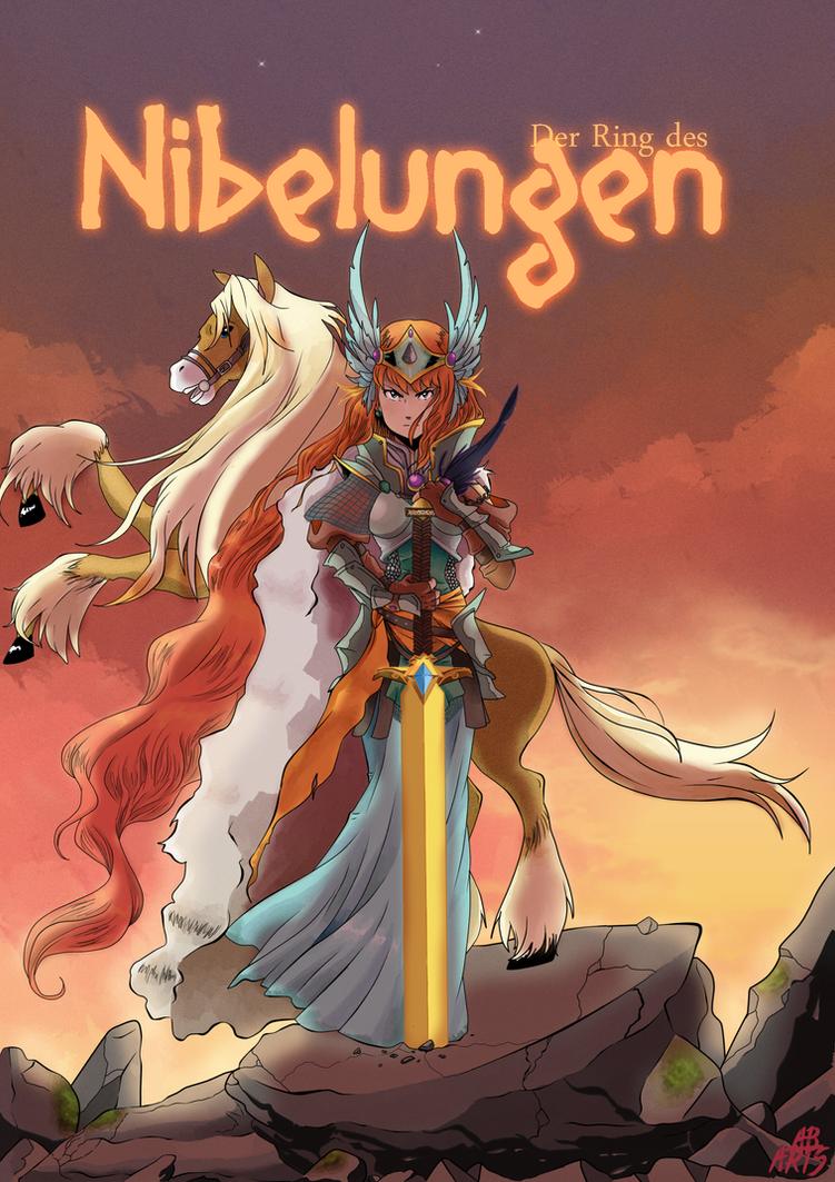 Der Ring Des Nibelungen : Brunhilde and Grane by AnaBaranski