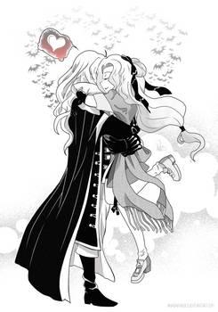 Best Hug Ever ( Alucard x Maria )