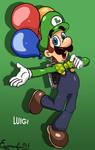 Mario Odyssey: Luigi Time !