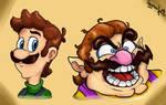 Super Mario : Luigi and Wario