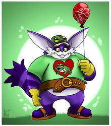 Sonic The Hedgehog : Big the Froggy fan by EggmanFan91