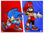 Mario and Sonic OG: New look