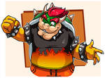 Mario Tennis : Bowser's new shirt