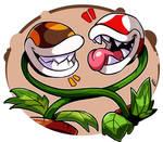 Super Mario : Piranha Plants