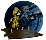 Little Nightmares II : Mono and Six