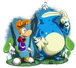 Rayman Origins : Rayman and Globox