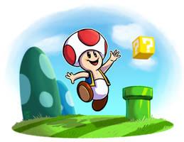 Super Mario : Toad