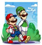 Super Mario : Stylish Brothers