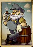 Super Mario : Old Jumpman