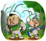 Pikmin 3 : Charlie and Alph