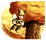 Super Mario Galaxy : Luigi Bee