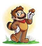 Super Mario : Tanooki Mario