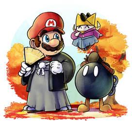 Paper Mario : Autumn Shogun