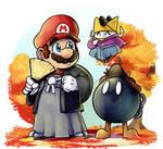 Paper Mario : Autumn Shogun by EggmanFan91
