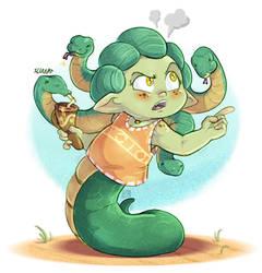 Little Medusa : Sharing problems