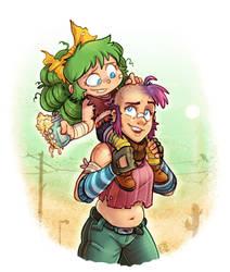 Tank Girl X IHF : Gertrude and Rebecca