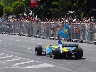 F1: Fernando Alonso in Madrid by Findal