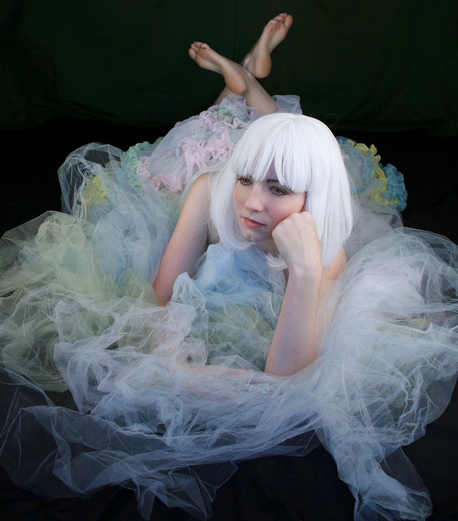 White Wig III by IQuitCountingStock