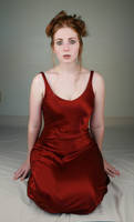 Woman Red Dress I