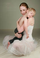 Mother and Son Sweet V by IQuitCountingStock