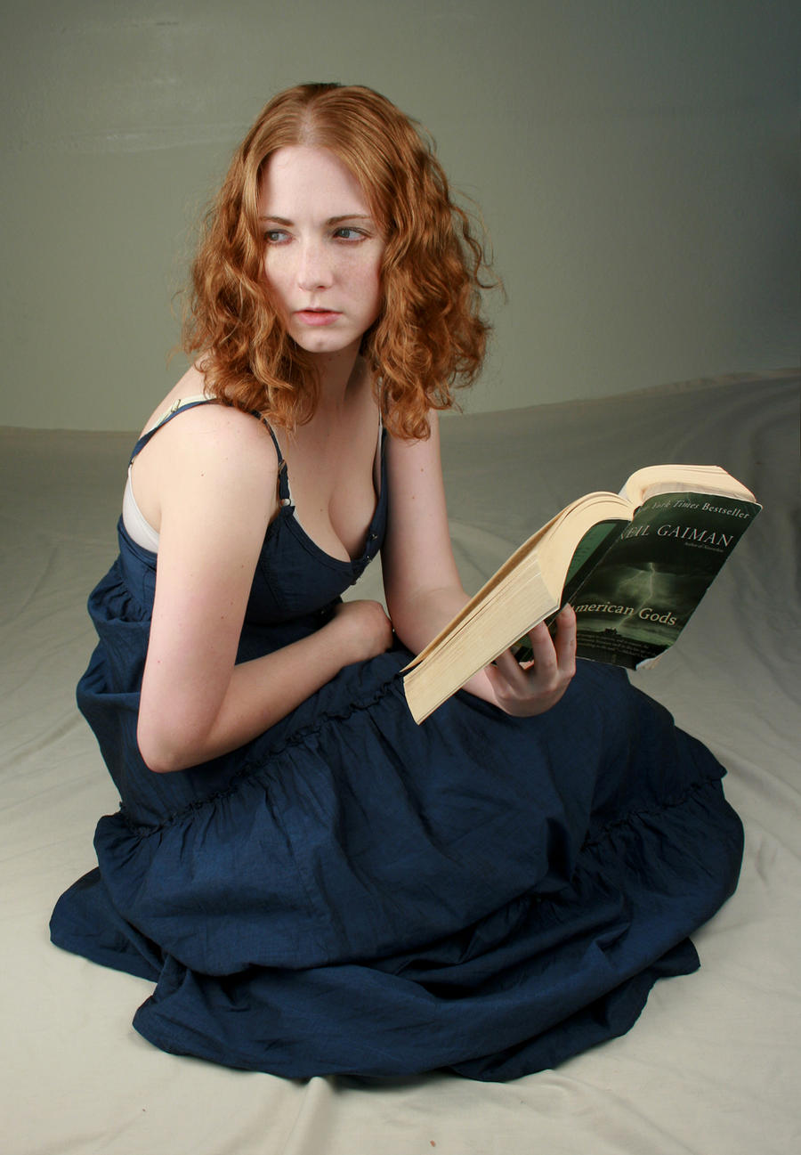 woman reading ii by iquitcountingstock on deviantart
