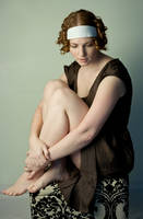 Grecian Curls II by IQuitCountingStock