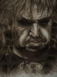 Matthew Morgan ballpoint sketch by TheDaveL