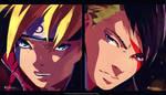 Boruto Naruto Next Generations Chapter 25 colored