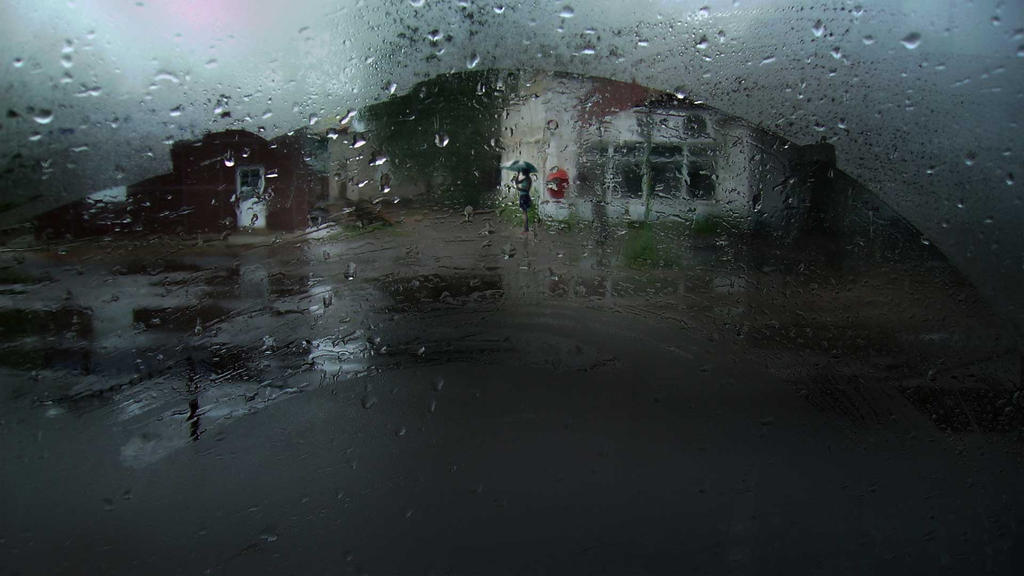 Under the rain by AwaaraC