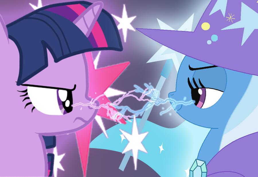 Twilight vs Trixie by bdiddy20128 on DeviantArt