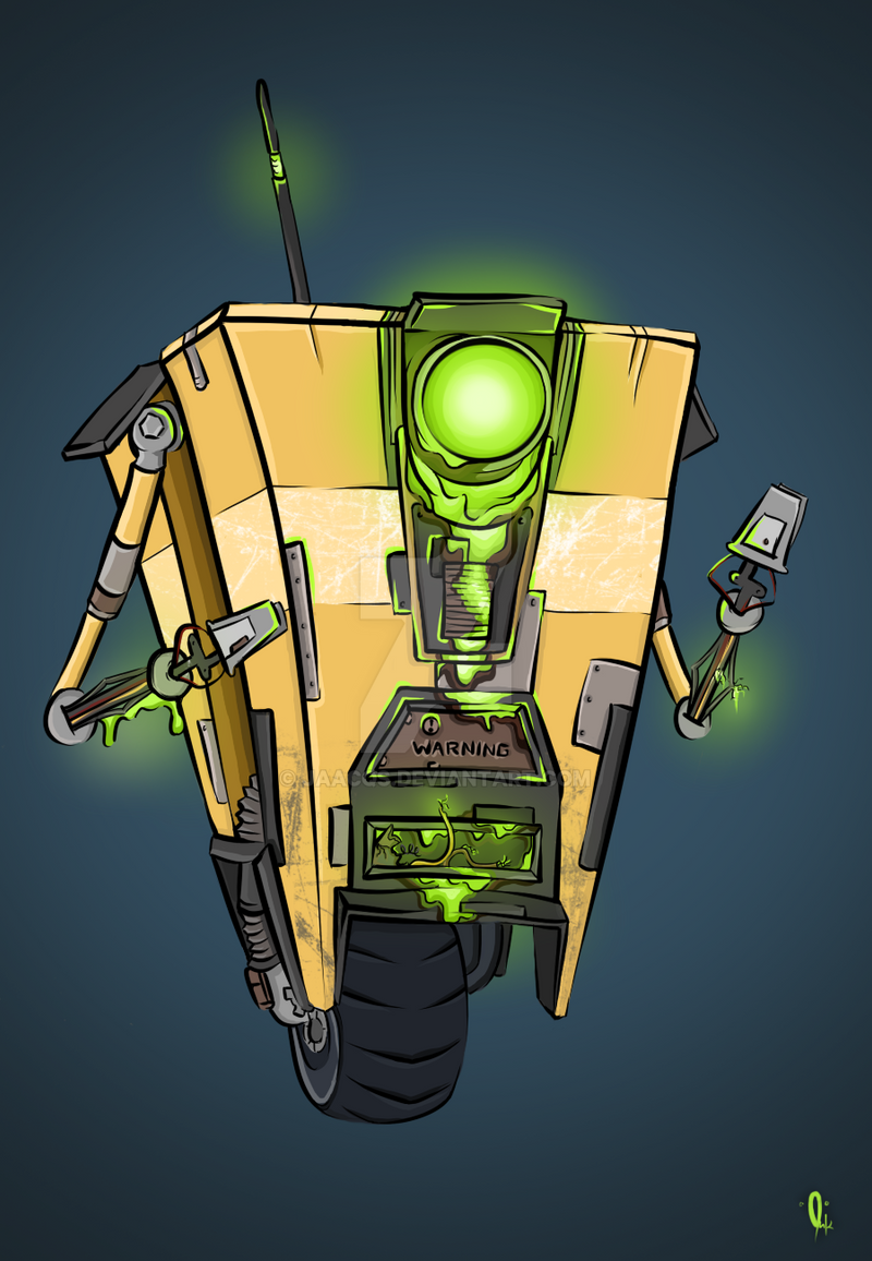 claptrap unofficial terror series by jaacqs on deviantart
