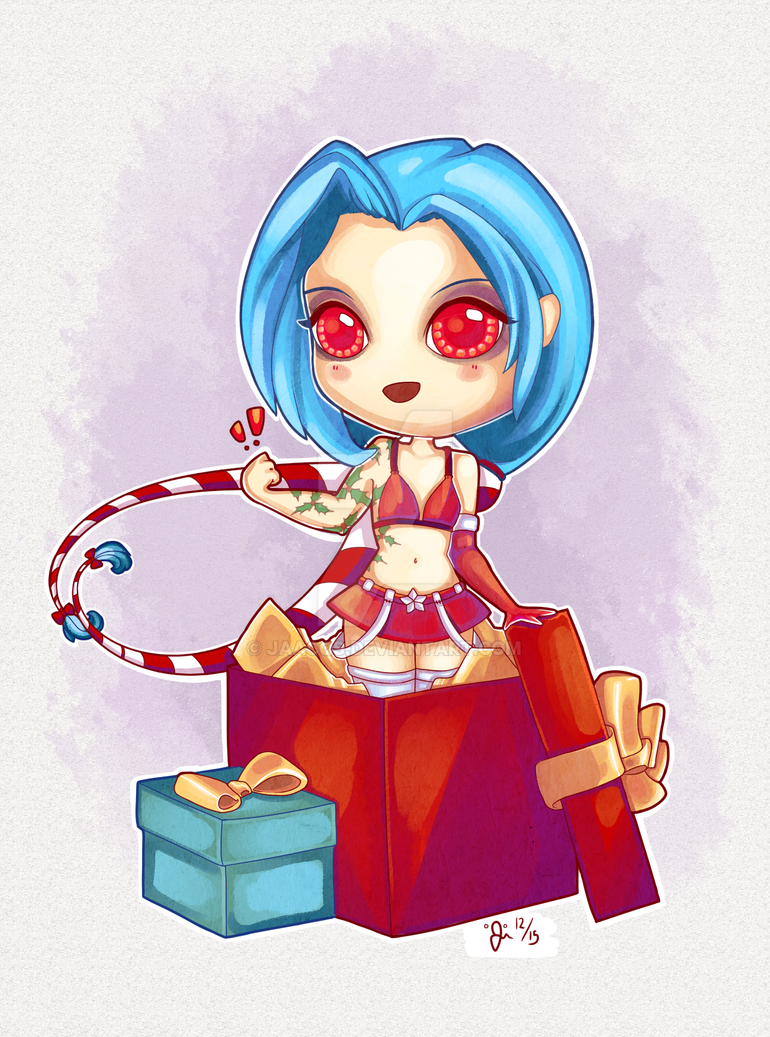 Jinx | Commission by Jaacqs