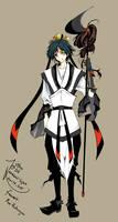 fanart- Hakuryuu Ren from Magi