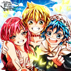 MAGI: The Labyrinth of Magic by erebos-light
