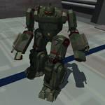 Dark Age Heavy Metal: SAM-001 Samson by 1ucho