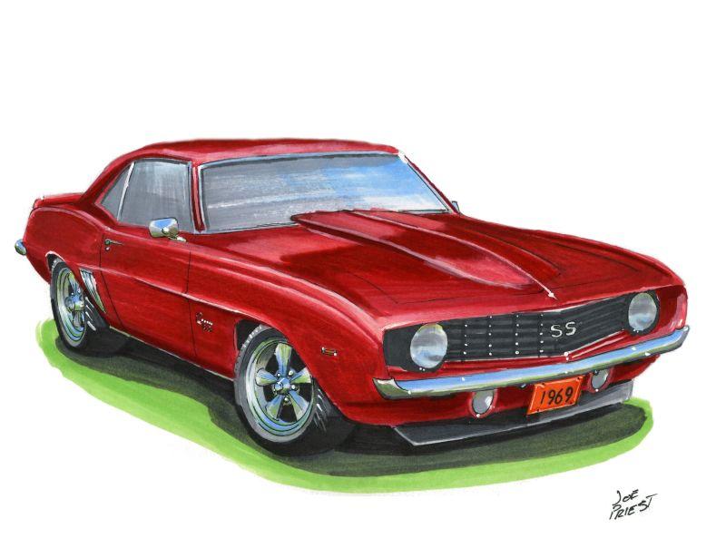 1969 chevy camaro ss by festy90 on deviantart